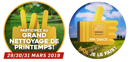 Wallonie Plus Propre 2019 avec MM Comme à la Maison
