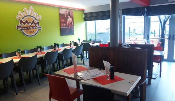M&M Arrière salle du restaurant