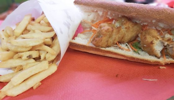 Sandwich Poissons Frites
